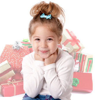 girl-expecting-presents