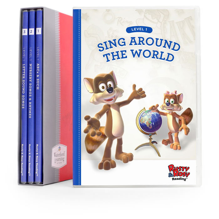 rusty and rosy early reading  u2013 educational dvd