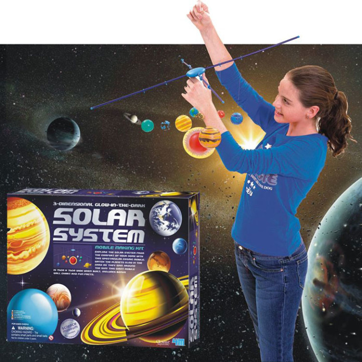 Teaching kids about solar system