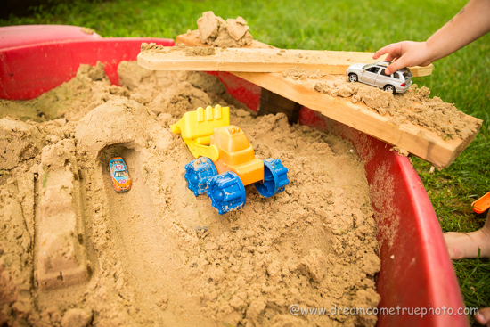 5 Awesome Sandbox Kids Activities - construction site