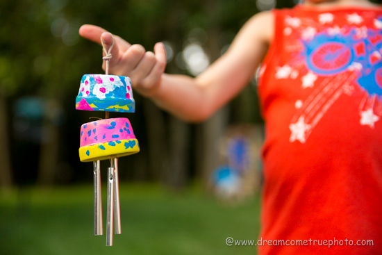 DIY Wind Chimes Kids Project