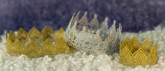 Easiest, Fastest and Prettiest Lace Crown for a Little Princess