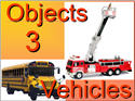 Introductory Words - English - Objects 3, Vehicles
