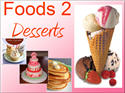 Introductory Words - English - Foods 2, Desserts
