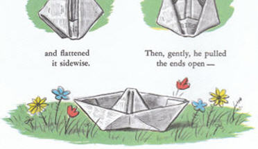 Origami Paper Ship Instructions