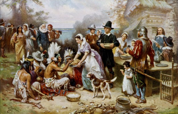 History of Thanksgiving celebration